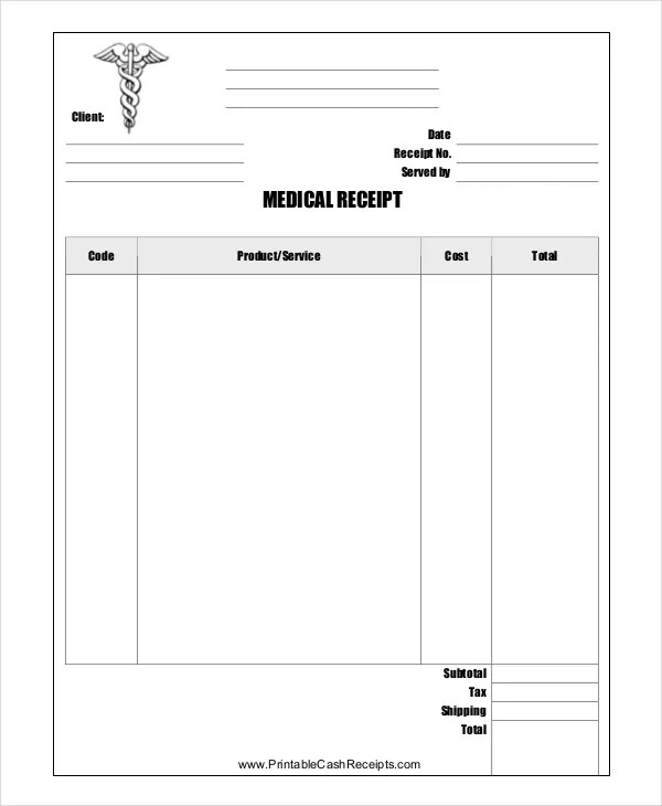 Store Receipt Template - 8+ Free Word, PDF Document Downloads Free - free reciepts