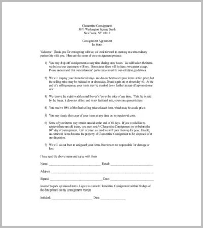 BB Service Contract Template  Create Professional Resumes Online