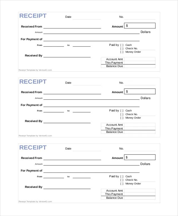 official receipt template - 28 images - pin official receipt on