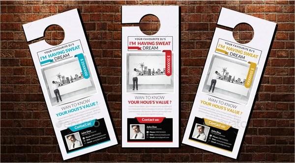 door hanger flyer template - 100 images - salon barber door hanger - retail and consumer door hanger template