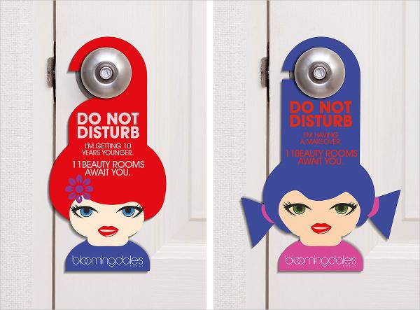 20+ Creative Door Hanger Designs Free  Premium Templates