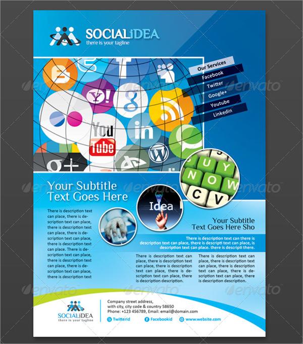 24+ Social Media Flyers - Word, PSD, AI, EPS Formats Free