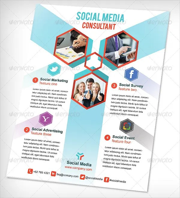 15+ Social Media Flyers - Free PSD, AI, EPS Format Download Free - contemporary flyer