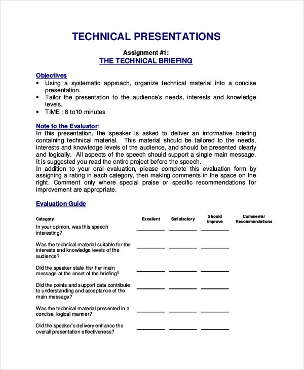 4+ Project Presentation Templates - DOC, PDF Free  Premium Templates