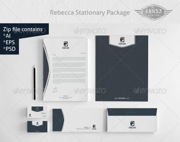 27+ Personalized Stationery Templates - Free PSD, EPS, AI Format