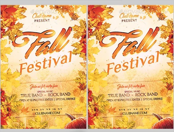 28+ Festival Flyer - Free PSD, AI, Vector, EPS Format Download - fall festival flyer ideas