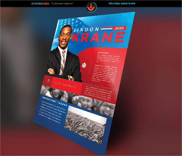 Political Brochure Political Campaign Brochure Examples Political - campaign flyer template