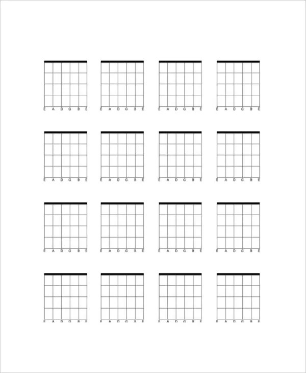 Guitar Chords Charts Printable Guitar t Guitar Chords