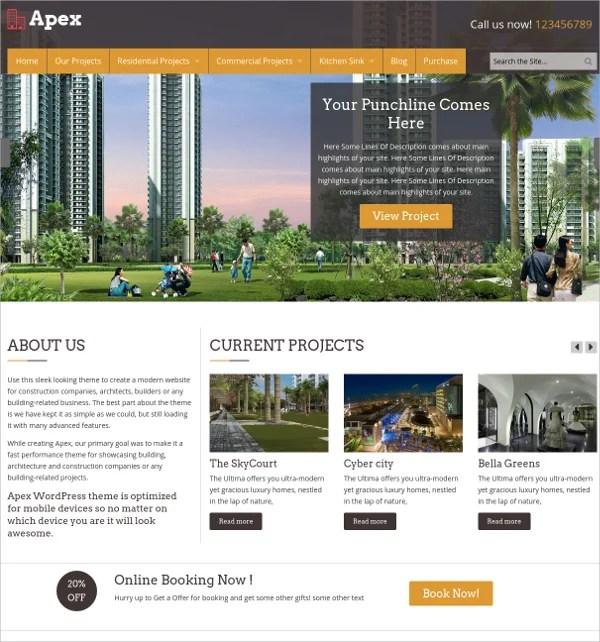 30+ Construction Website Themes  Templates Free  Premium Templates
