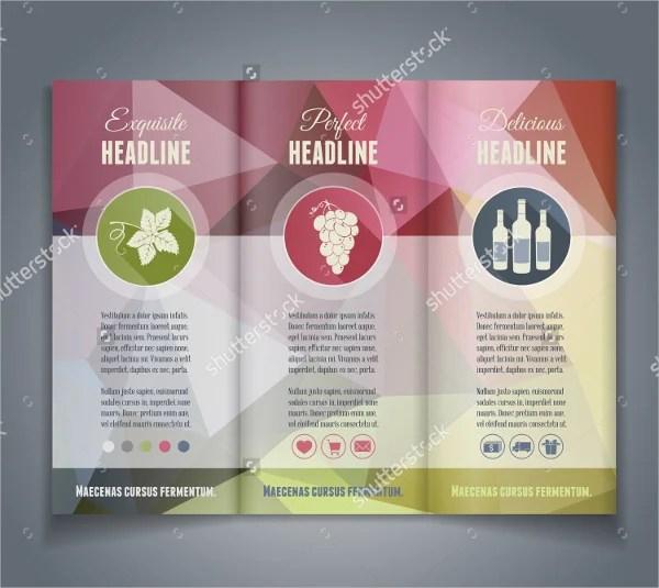 16+ Wine Brochure Templates - Free PSD, AI, Vector, EPS Format