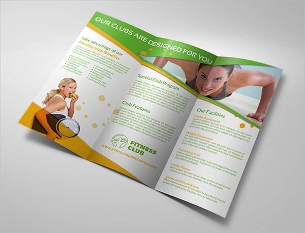 15+ Gym Brochure Templates - Free PSD, AI, Vector, EPS Format