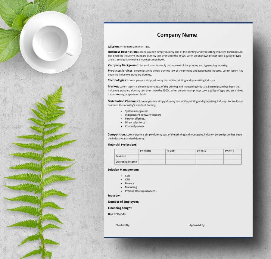 9+ Free Executive Summary Templates - Business, Industry, Management
