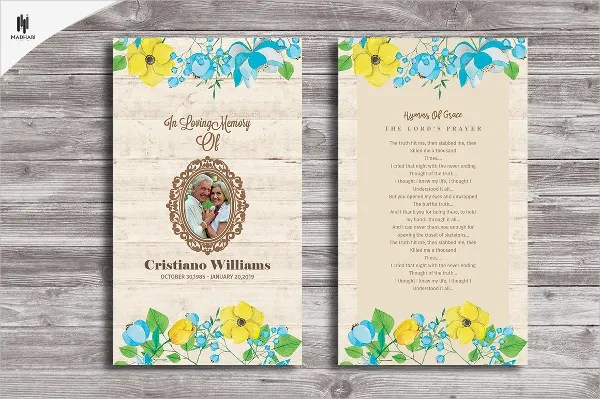 15+ Funeral Card Templates - Free PSD, AI, EPS Format Download - event card template