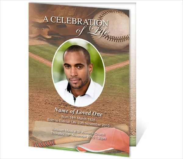 11+ Funeral Card Templates - Free PSD, AI, EPS Format Download - funeral card templates free