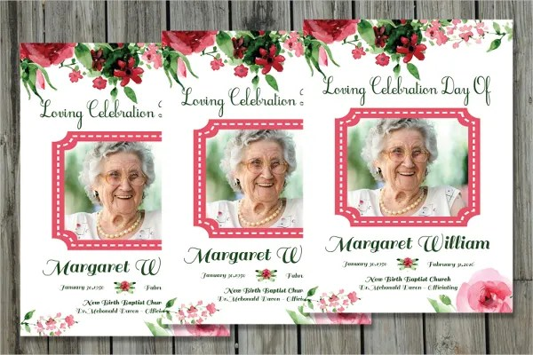 11+ Funeral Card Templates - Free PSD, AI, EPS Format Download