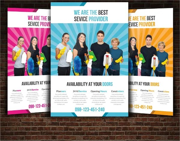 21+ Cleaning Service Flyers - Free PSD, AI, EPS Format Download