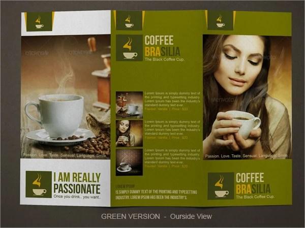 11+ Coffee Shop Brochure Templates - Free PSD, AI, Vector, EPS