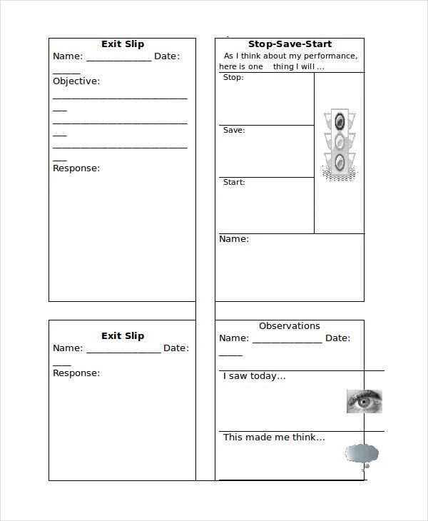 10+ Slip Templates - Free Sample, Example, Format Free  Premium - shipping slip template