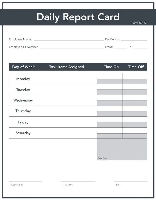 9+ Free Daily Report Templates - Construction, Sales, Production - free report templates