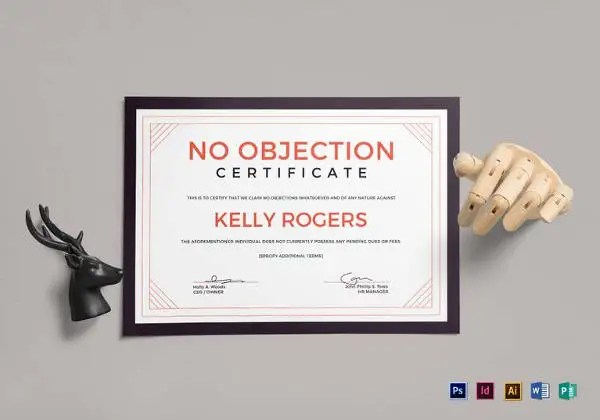 12+ No Objection Certificate Templates - PDF, DOC Free  Premium - non objection certificate sample