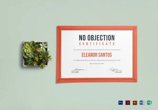 noc non objection certificate
