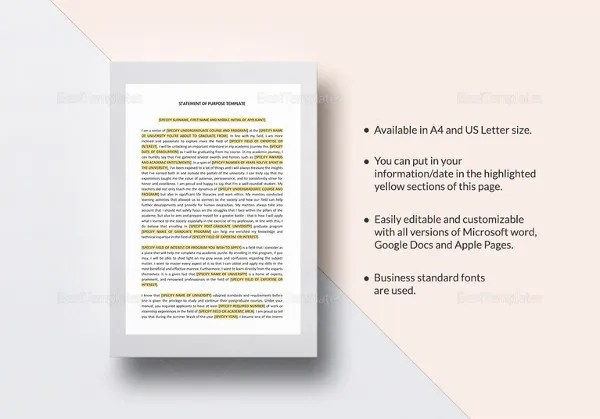 Mission Statement Template - 12+ Free Word, PDF Document Downloads