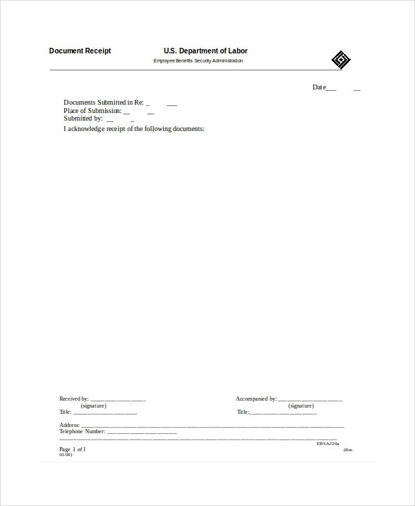 Receipt Template - 35+ Free Word, PDF Documents Download Free