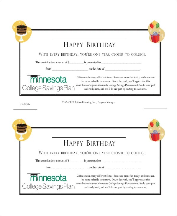 Gift Certificate Template - 8+ Free Word, PDF Document Downloads - gift certificate word template