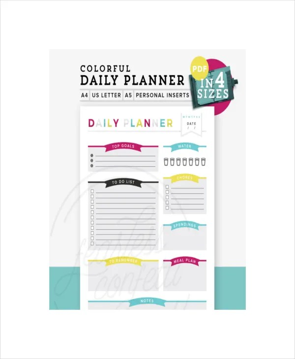 cute daily schedule template - Onwebioinnovate - day planner template