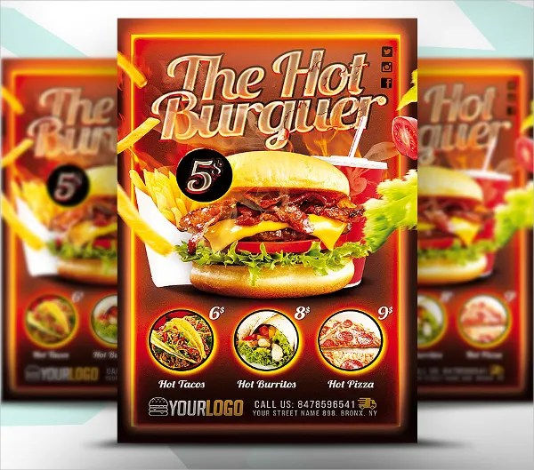 23+ Fast Food Flyer Templates - Free PSD, AI, Vector, EPS Format
