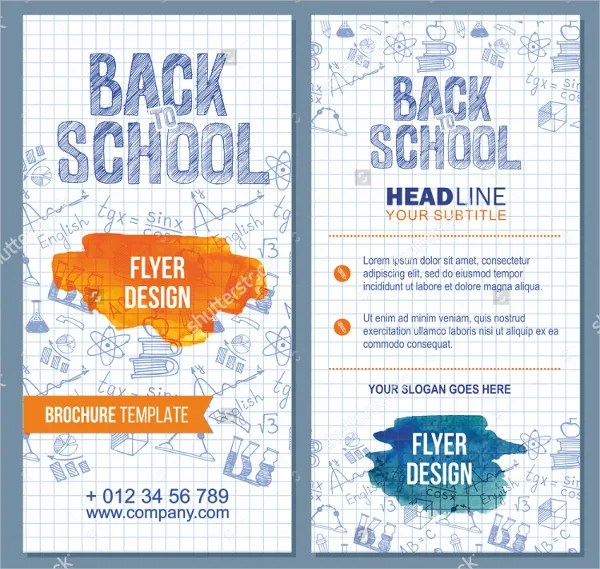 27+ School Flyer Template - Free PSD, AI, Vector, EPS Format