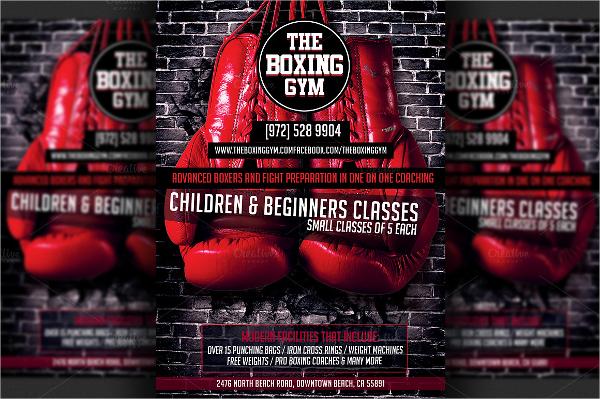 boxing flyer template photoshop - Timiznceptzmusic