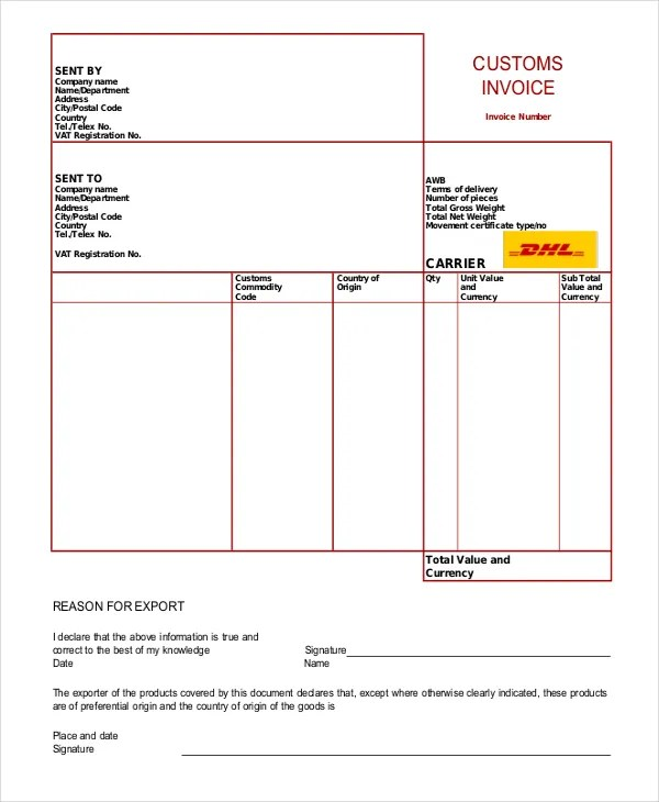 Invoice Template - 10+ Free Word, PDF Document Downloads Free - invoice templets