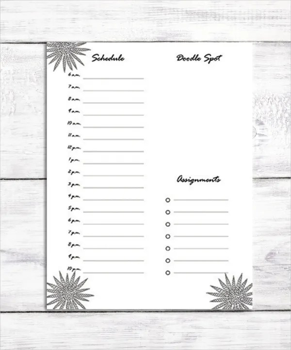 6+ Personal Daily Planner Templates - Free Sample, Example, Format