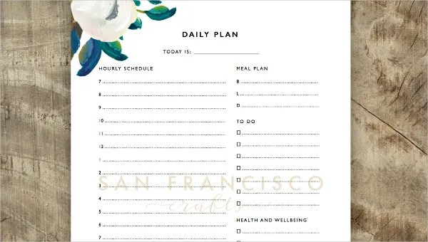 6+ Student Daily Planner Templates - Free Sample, Example, Format