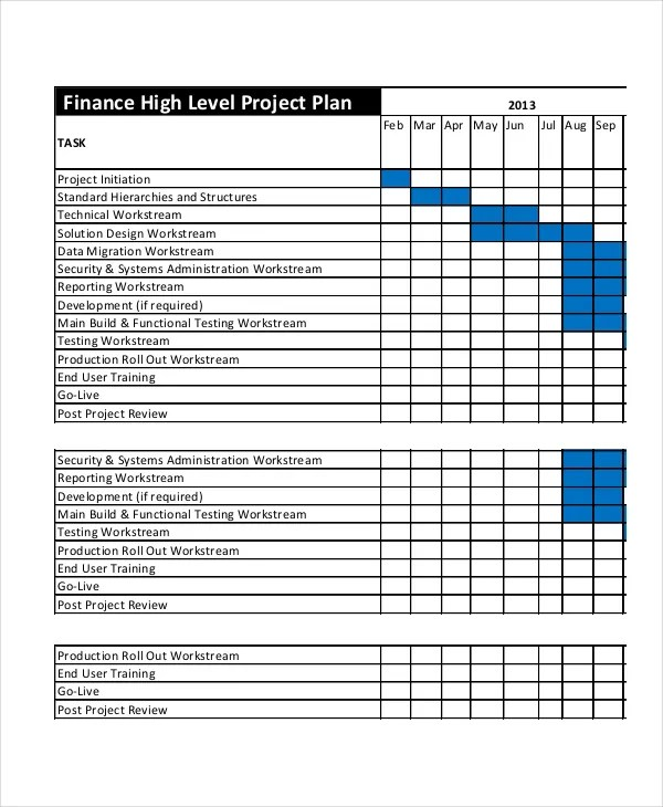 Project Plan Template - 12+ Free Word, PSD, PDF Documents Download