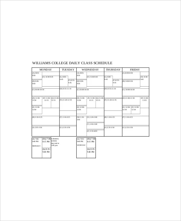 7+ College Daily Planner Templates - Free Sample, Example, Format