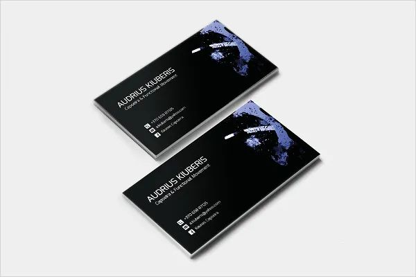 business cards templates free download word