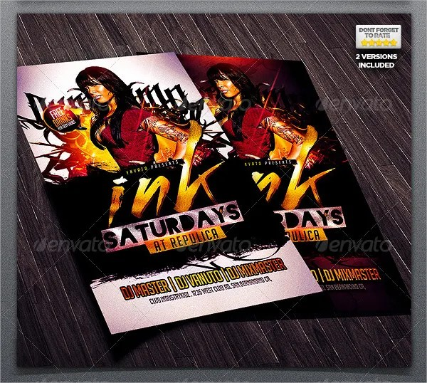 22+ Hip Hop Flyer Templates - Free PSD, AI, Vector, EPS Format