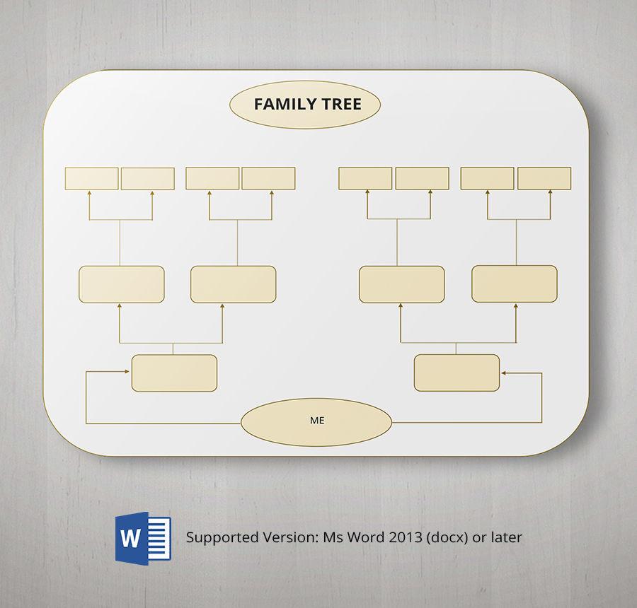 free blank family tree template