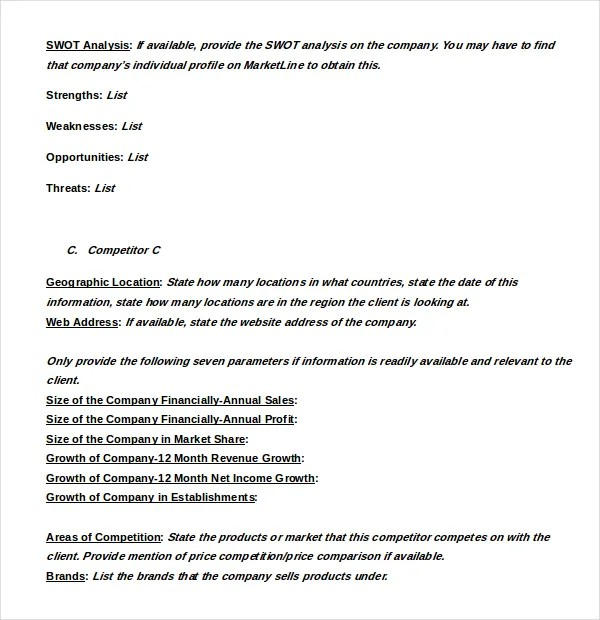 Sample case study of restaurants Research paper Sample