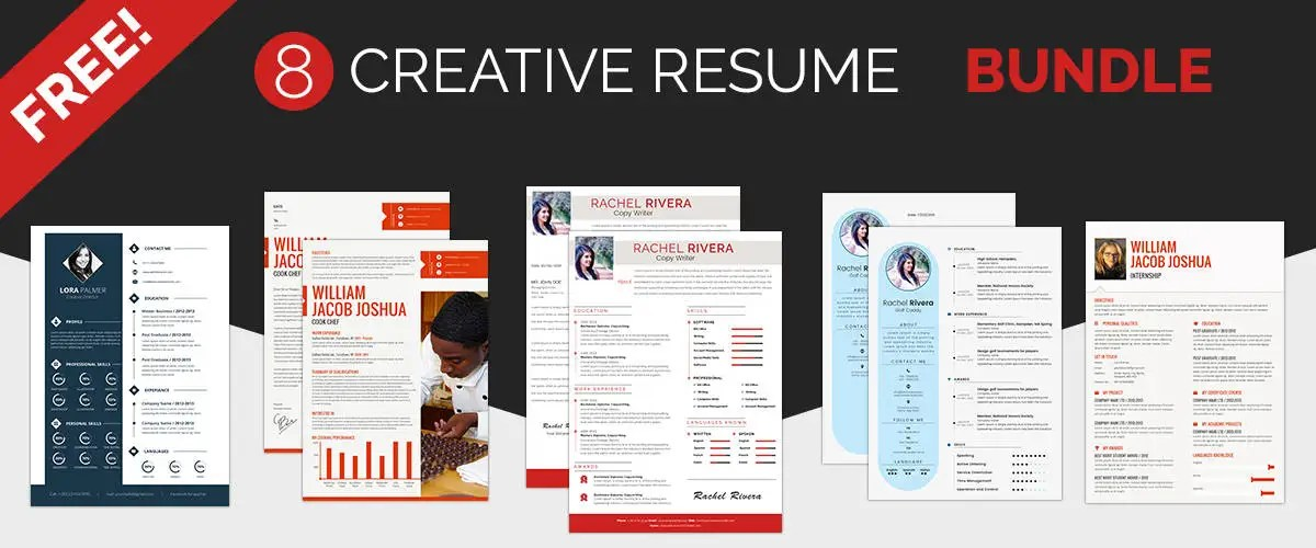 Resume Template - 71+ Free Resume Templates in Word, PSD \ MAC - creative resumes templates