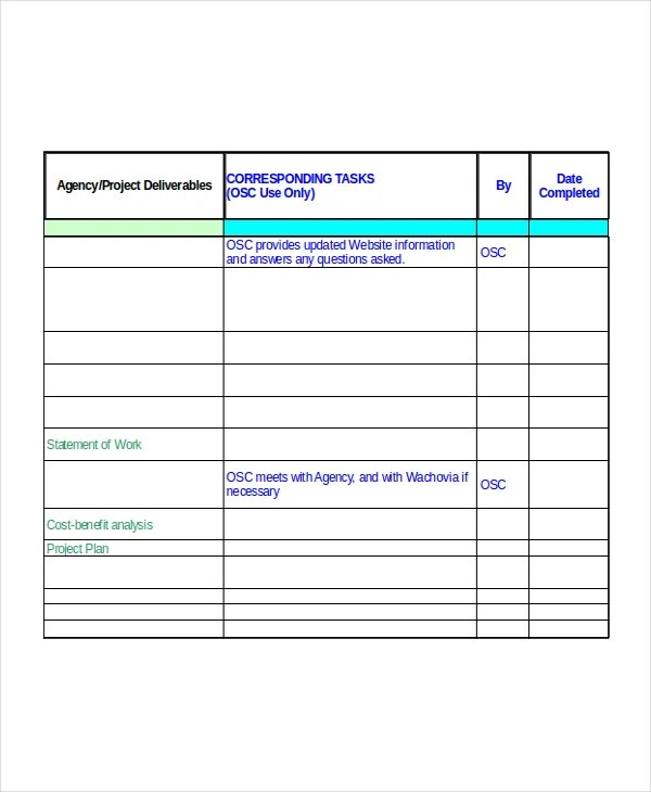 Excel Project Plan Template - 10+ Free Excel Document Downloads - Free Excel Project Planning Templates