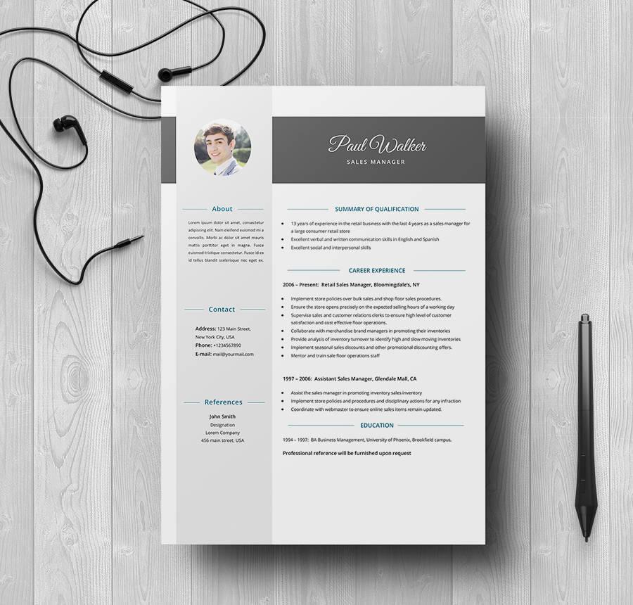 39+ Free Resume Templates - PDF, DOC Free  Premium Templates