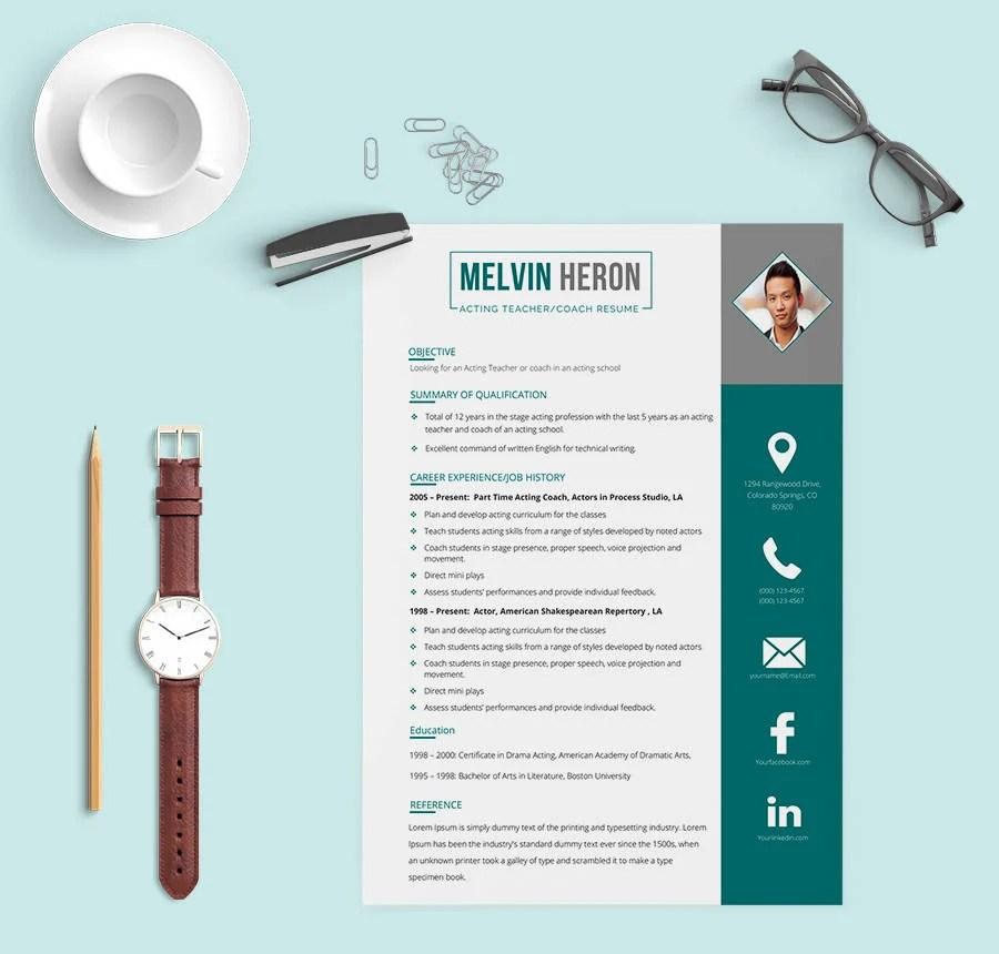 42+ Free Resume Templates - Fresher, Nurse, Teacher, Sales Free