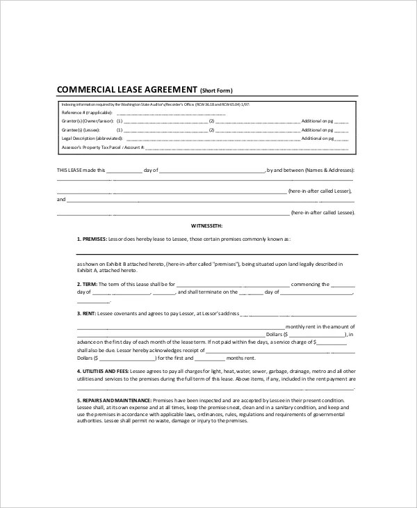 7+ Land Lease Templates - Free Sample, Example, Format Free