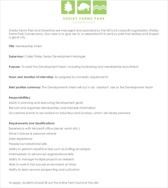 Summer Intern Job Description How To Write A Job Description For An - Office Intern Job Description