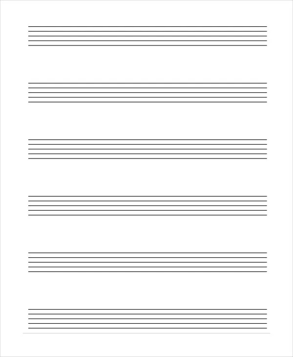 Lined Paper - 10+ Free Word, PDF, PSD Documents Download Free - lined blank paper