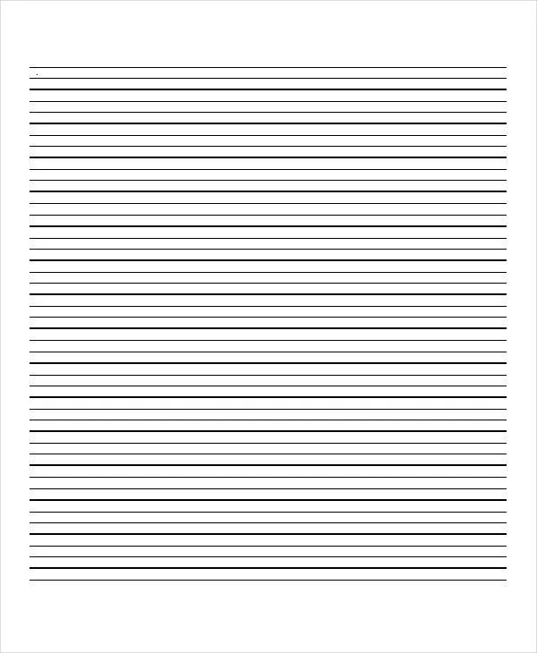 Lined Paper - 10+ Free Word, PDF, PSD Documents Download Free - print lined writing paper