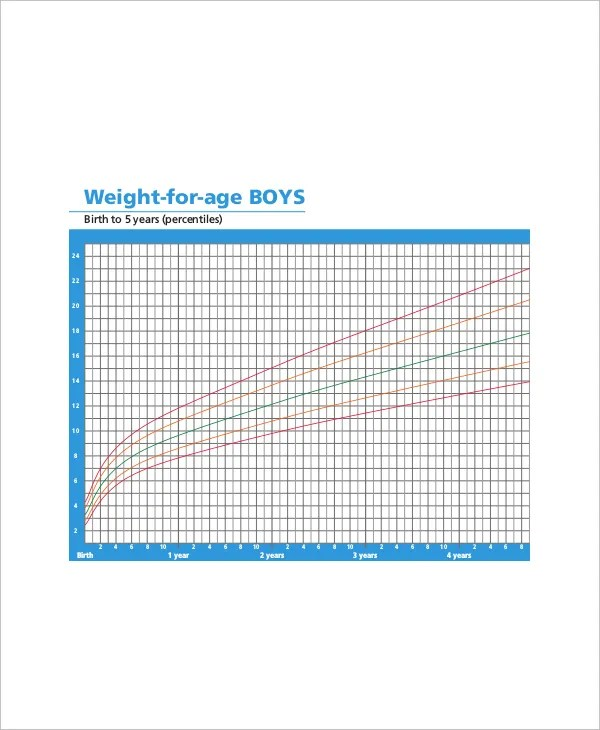 5+ Baby Height Weight Chart Templates for Baby - Free Sample